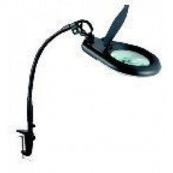 Eclipse Tools - 902-110 - Eclipse Tools Magnifier Workbench Lamp - Black..with Bench Clamp - 5X