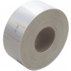 3M - 963-10-WHITE-2X50YD - 3M 963-10-White-2X50YD Conspicuity Tape 2 x 50 yd (2x 9 cuts)