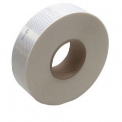 "3M - 973-10NL-WHITE-2""X50YD - 3M 973-10NL-White-2x50yd Conspicuity Tape 2 x 50 yd"