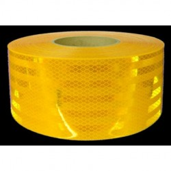 "3M - 973-71-FRA-YELLOW-4""X50YD - 3M 973-71-FRA-Yellow-4x50yd Conspicuity Tape 4 x 50 yd (4 x 9 cuts"