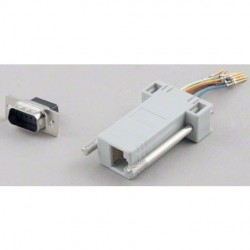 Pan Pacific - AD-9MT8-G1 - Pan Pacific AD-9MT8-G1 Adapter DB9 Male To RJ45
