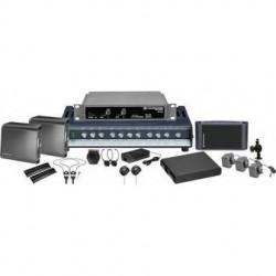 Sennheiser - ADA4000SINGLE - Sennheiser 2.3 MHz single channel infrared system package for ADA comp