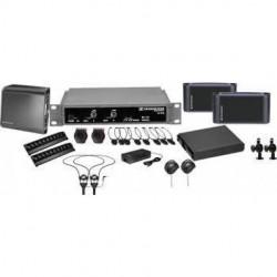Sennheiser - ADA8000SINGLE - Sennheiser 2.3 MHz single channel infrared system package for ADA comp