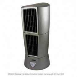 Bolide Technology - BM3022 - Bolide Technology Group BM3022 Desktop Fan Motion Detection Hidden Cam