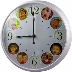 Bolide Technology - BR2025 - Bolide Technology Group Self Recording Baby Room Clock Nanny Camera U