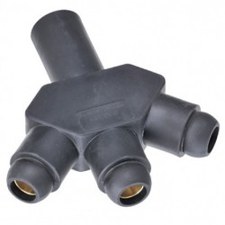 Marinco Power Products - CA318F-C - Marinco CA318F-C CLS 18 Series Ballnose Hard 3Fer (M-F-F-F)-Red (C )