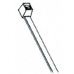 AVB Cable - CT-06-18-WH-K - AVB Cable CT-06-18-WH-K Thin 6 Cable Ties White 1000/Pack