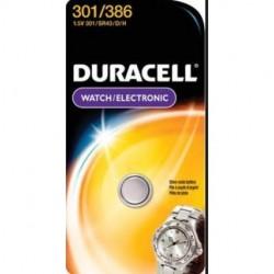 Duracell - D301/386PK - Duracell Procell D301/386PK Watch Silver Oxide 1.5V 1-Pk Blister