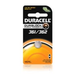 Duracell - D361/362PK - Duracell Procell D361/362PK Battery, Duracell, Silver Oxide, Watch