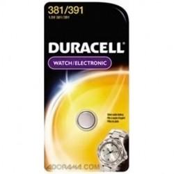 Duracell - D381/391PK - Duracell Procell D381/391PK Battery, Duracell, Silver Oxide, Watch