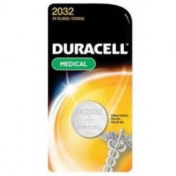 Duracell - DL-2032B - Duracell Lithium Coin Battery - Lithium Manganese Dioxide - 3V DC