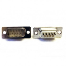 Pan Pacific - DS9PT - Pan Pacific DS9PT Solder Type D-Sub 9-Pin Male Connector