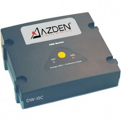 Azden - DW-10C - Azden DW-10C Dual Channel Base Station - 1312.34 ft Operating Range