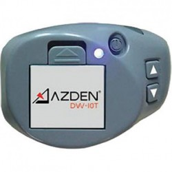 Azden - DW-10T - Azden DW-10T Lightweight Beltpack - 1312.34 ft Operating Range