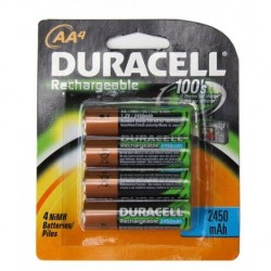 Duracell - DX1500B4N - Duracell Procell DX1500B4N Rechargable AA Batteries Sold 4- Pack