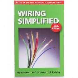 Gardner Bender - ERB-WS - GB ERB-WS Wiring Simplified 44th Ed -DIY Electrical Installation Guide