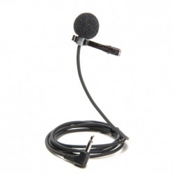 Azden - EX-505U - Azden EX-505U Uni-Directional Lapel Microphone with Mini-Jack Output