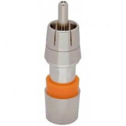 Belden / CDT - FS1RCA - Belden/PPC FS1RCA RG59 Mini Coaxial Cable Compression RCA Connector