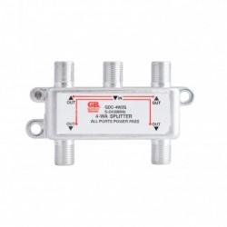 Gardner Bender - GDC-4W2G - GB GDC-4W2G Splitter Satellite/Digital TV 5MHz-2.3GHz, 4-Way, 1/Pkg