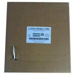 AVB Cable - H59+182P-WHITE-500-SM - AVB RG-59 2-18 (SIAMESE) CCA CMP Plenum White 500 Feet Reel In A Box