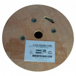 AVB Cable - H59+182R-BLACK-OV - AVB RG-59 2-18 Overall Shielding CCA CMR PVC Black - 1000 Feet Reel