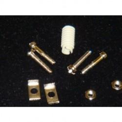 Pan Pacific - H-SET-25-C/S - Pan Pacific H-SET-25-C-S - D-Sub Hood Hardware