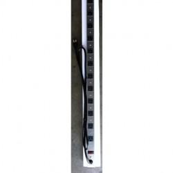 AVB Cable - LTS-12-SP6 - AVBcable LTS-12-SP6 12 Outlet, 3' Rack Power Strip