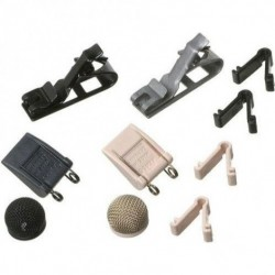 Sennheiser - 004225 - Accessory kit for MKE2 with MZQ222, MZQ222-NI, MZW2-A, MZW2-G, ZH100-ANT, ZH100-BEI and case