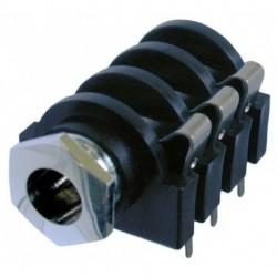Neutrik - NMJ6HCD2 - Neutrik NMJ6HCD2 1-4 stereo PCB Board Mount Jack Connector