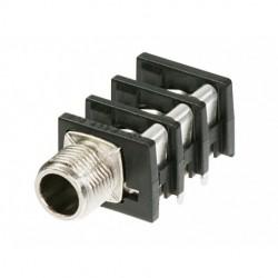 Neutrik - NRJ6HM-1 - Neutrik NRJ6HM-1 6.5mm Threaded PC Board Level 1-4 Jack with 1 Port