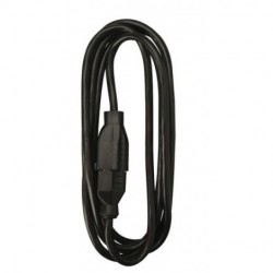 AVB Cable - PC-8FT-BK - AVB Cable PC-8FT-BK 8' Black Extension Cord 3 Conductor 16-3 Awg.