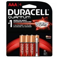 Duracell - QU1500B4 - Duracell QU1500B4 Quantum Heavy Duty AA Alkakine Batteries with Dural