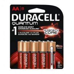 Duracell - QU1500B8 - Duracell QU1500B8 Quantum Heavy Duty AA Alkakine Batteries with Dural