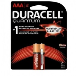 Duracell - QU1500BZ - Duracell QU1500BZ Quantum Heavy Duty AA Alkakine Batteries with Dural