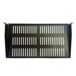 AVB Cable - RA-S-U1-9.5 - AVBcable RA--S-U1-9.5 1 Space Rack Shelf w/Vents 1 3-4Hx19Wx 9.5D, BLK