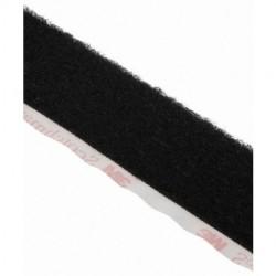 3M - SJ-3527N-BLACK-1 - 3M SJ-3527N(BLACK)1 Fastener SJ3527N Loop Black, 1 in x 50 yd 0.15 in