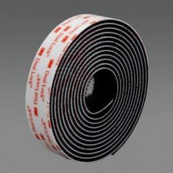 """3M - SJ3550-2""""X50YD-BLACK - 3M SJ3550-2 x 50yd-Black Dual Lock Reclosable Fastener 250 Black"""