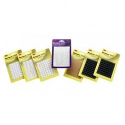 3M - SJ-6553-QUITE-CLEAR-PACK - 3M SJ-6553 Bumpon Blister Pack Quiet Clear 2376 Bumps-Carton