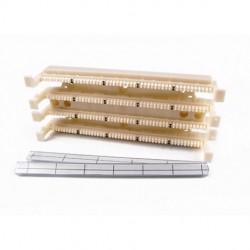 Hellermann Tyton - T110WBL100 - Hellermanntyton T110WBL100 Category 5e 100 Pair 110 Wiring Block With