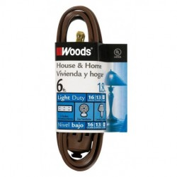 AVB Cable - WD-0600 - AVB Cable WD-0600 6' Extension Cord Brown