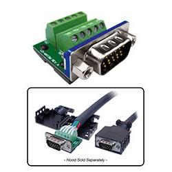 BTX Technologies - MX15M - MaxBlox HD15(m) to Terminal Block