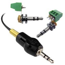 BTX Technologies - MX35M - MaxBlox 3.5mm Stereo Cable Mount Male