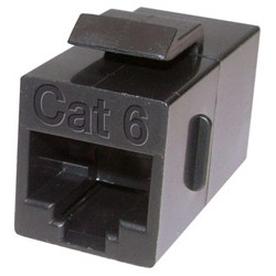 Other - 9246M - Mini Coupler for Cat 6, Black