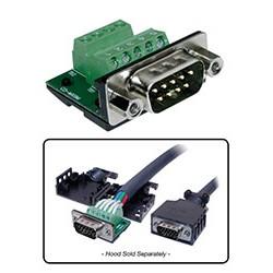BTX Technologies - MX9M - MaxBlox DB9(m) to Terminal Block