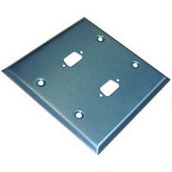 Other - 2DB9ED - 2 Gang Wall Plate DB9, Double-Empty