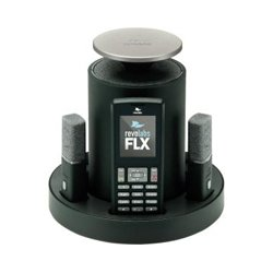 Revolabs - 10FLX2101USBPOTS - FLX2 Mic / USB System (Phone: Analog; Mics: 1x Wearable / Lapel, 1x Tabletop Omni-directional)