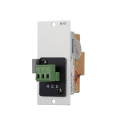 TOA Electronics - B-01S T - TOA B-01S Balanced Line Input Module with Screw Terminals