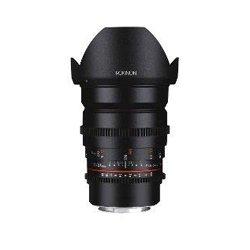 Jvc - Cine-ds24-mft - Rokinon Ds 24mm T1.5 Cine Lens For Mft
