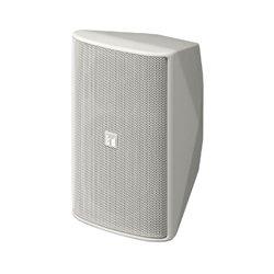 TOA Electronics - F-1000WTWP - TOA F-1000WTWP Outdoor Speaker - 2-way - White - 85 Hz to 20 kHz - 10 Kilo Ohm - 87 dB Sensitivity - Wall Mountable, Ceiling Mountable