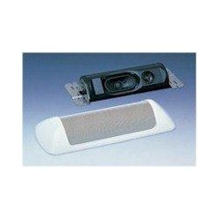 TOA Electronics - H-1 EX - TOA H-1 2 Way Cylindrical Wall or Ceiling Mount 12W 70/100V Paintable Speaker